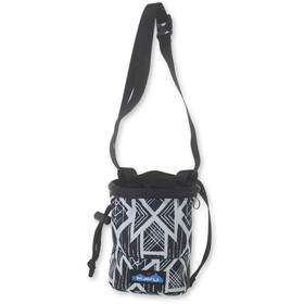 KAVU Peak Seeker Chalk Bag carbon tribal